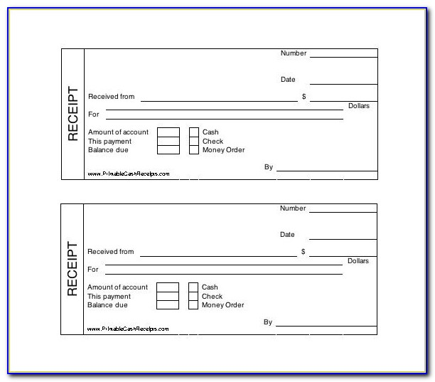 Free Doctor Receipt Template