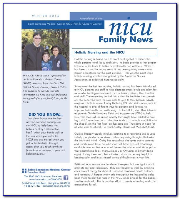 Free Editable Family Newsletter Templates