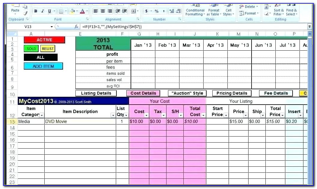 Free Excel Customer Database Template Download