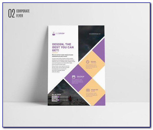 Free Flyer Templates For Adobe Indesign