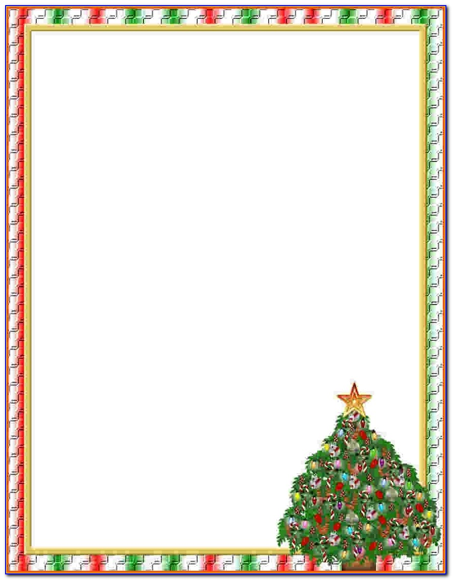 7+ Free Christmas Templates For Word | Survey Template Words Pertaining To Free Christmas Stationery Templates For Word