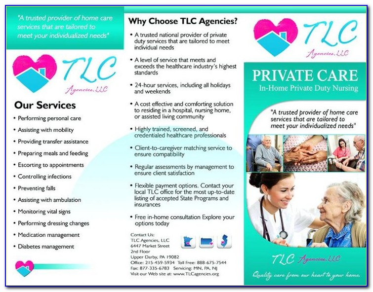 Free Home Care Flyer Templates