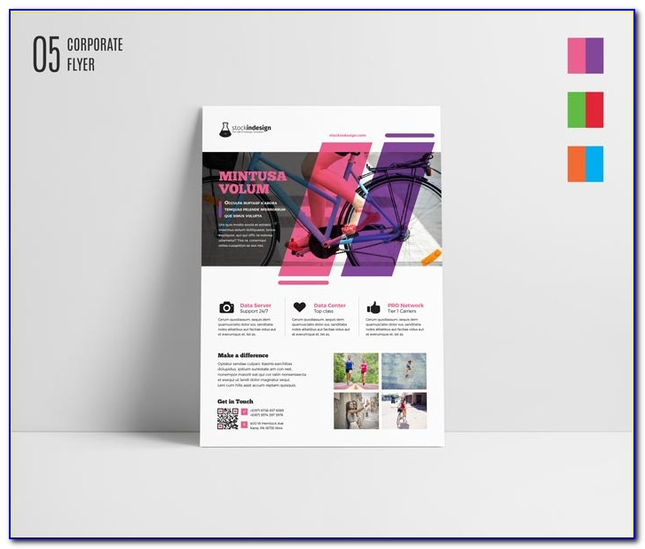 Free Indesign Flyer Templates For Mac