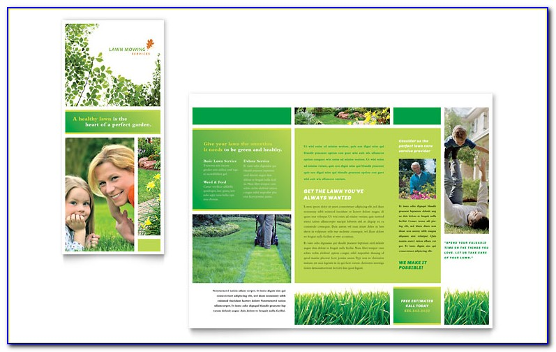 Free Landscape Brochure Templates