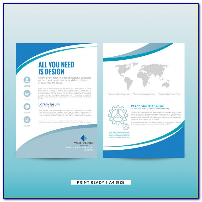 Free Marketing Brochure Templates