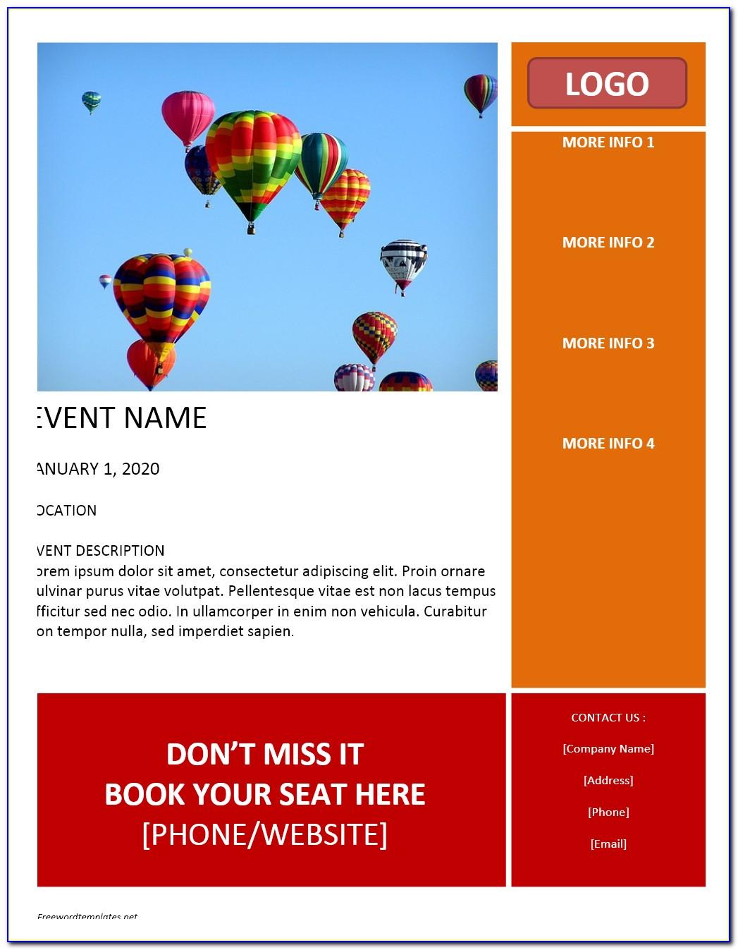 Free Microsoft Brochure Templates Download