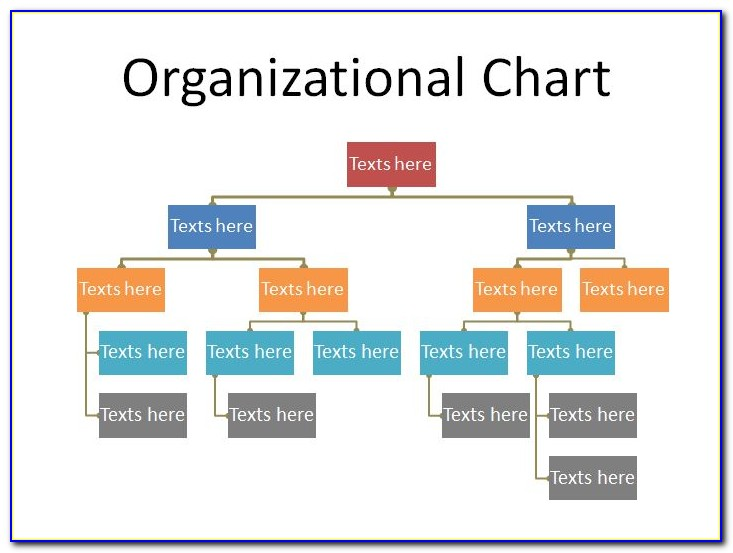 Free Ms Word Organizational Chart Template