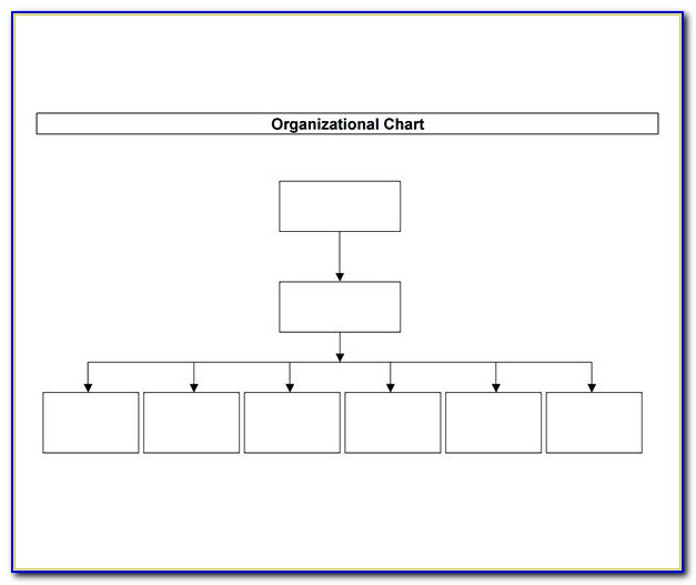 Free Organizational Chart Template Word 2016
