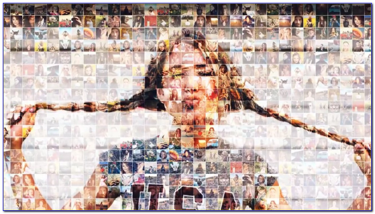 Free Photo Mosaic After Effects Templates