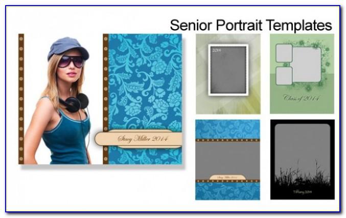 Free Photoshop Senior Portrait Templates