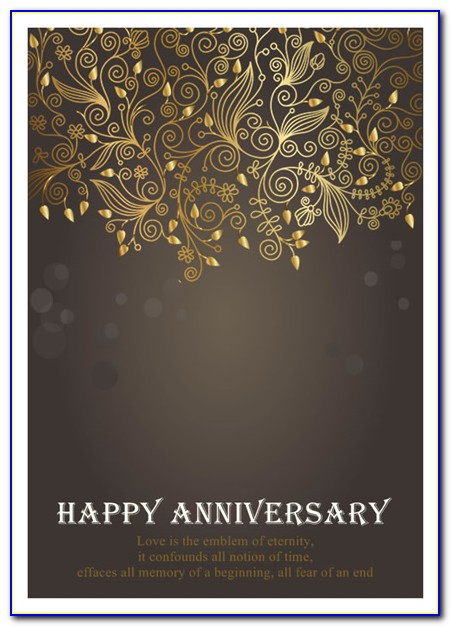 Free Printable Anniversary Card Templates