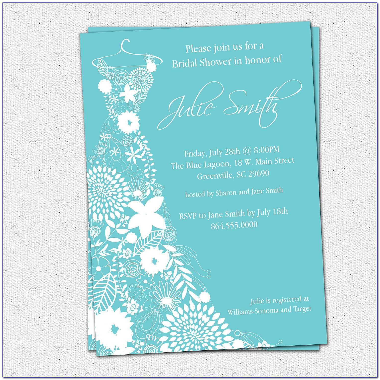 Free Printable Couples Shower Invitation Templates