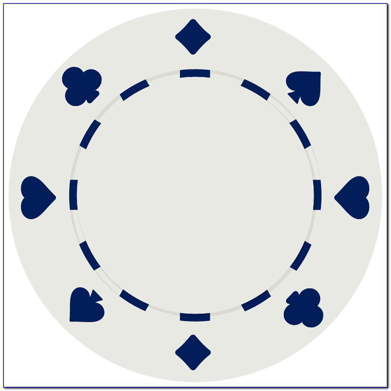 Free Printable Poker Chip Template