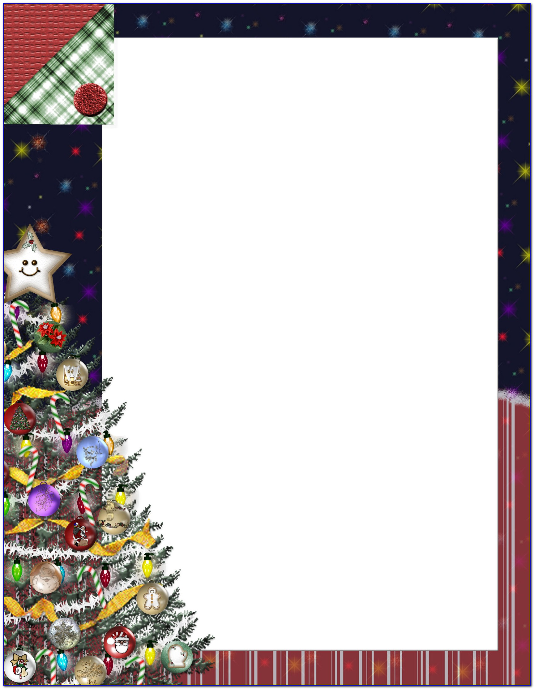 Free Religious Christmas Stationery Templates For Word