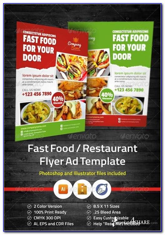 Free Restaurant Flyer Templates Word