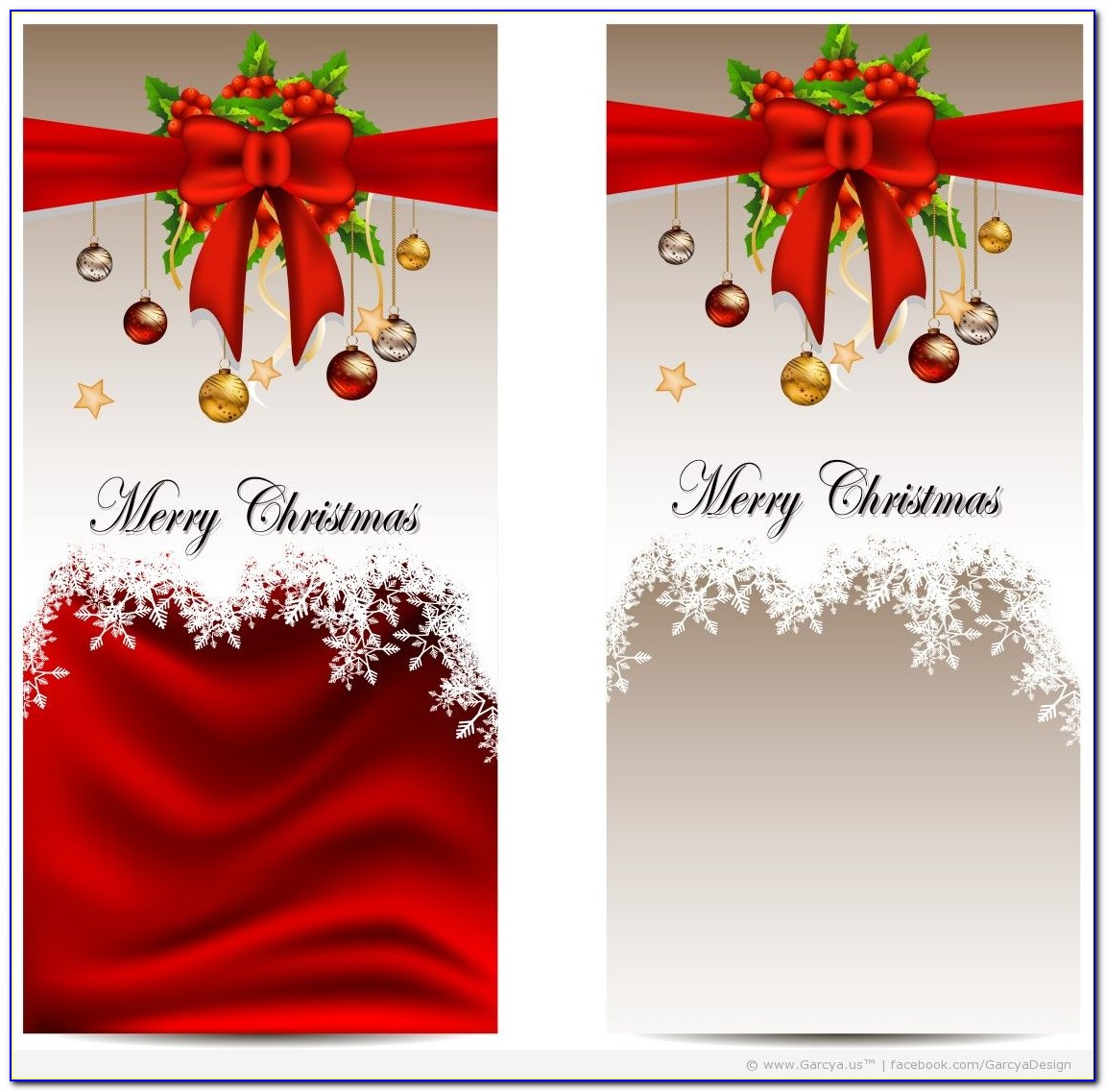 Free Word Christmas Card Templates