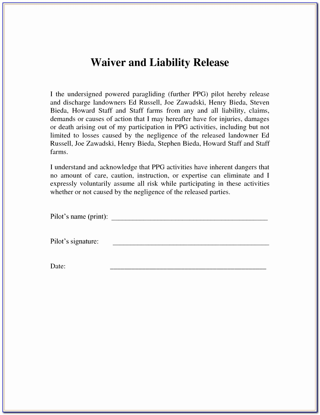 Liability Waiver Template Free Coupon Layouts Simple Fitness Waiver And Release Form Template Lovely Pdf Word Excel Templates Wotoe