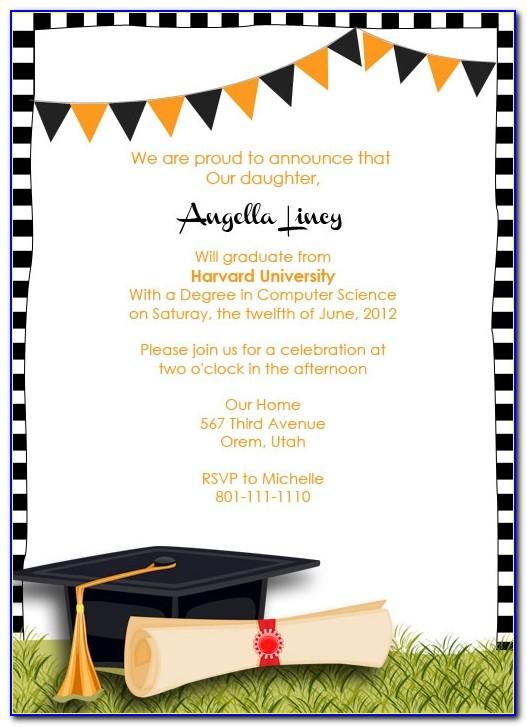 Graduation Invitation Template Free Orderecigsjuice Graduation Announcement Templates Free Graduation Announcement Templates Free