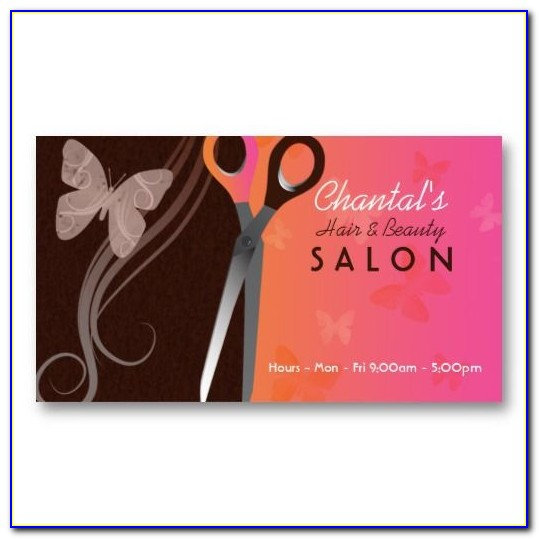 Hairdresser Business Card Templates Free
