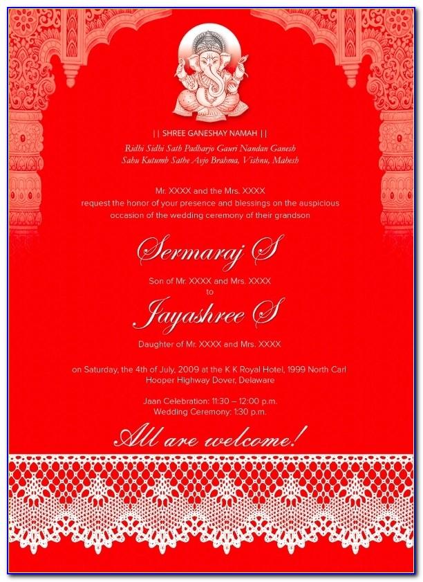 Traditional Wedding Invitations – 26+ Psd, Jpg, Format Wedding Intended For Indian Wedding Invitation Design Templates