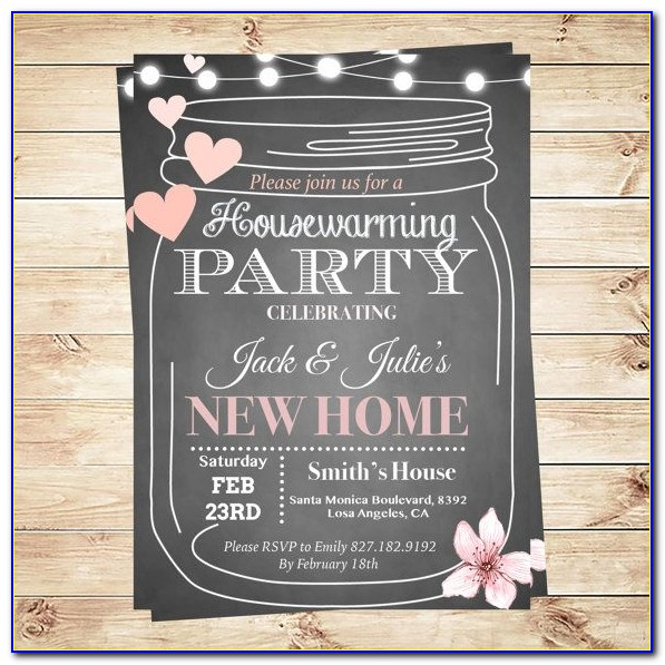 Housewarming Party Template