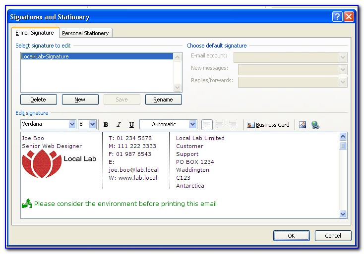 Html Email Templates For Outlook 2013