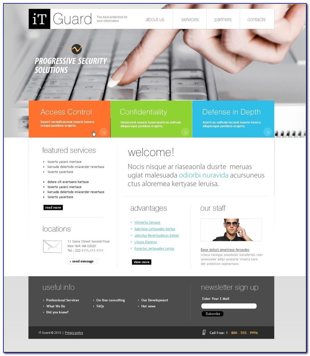 Informational Website Templates
