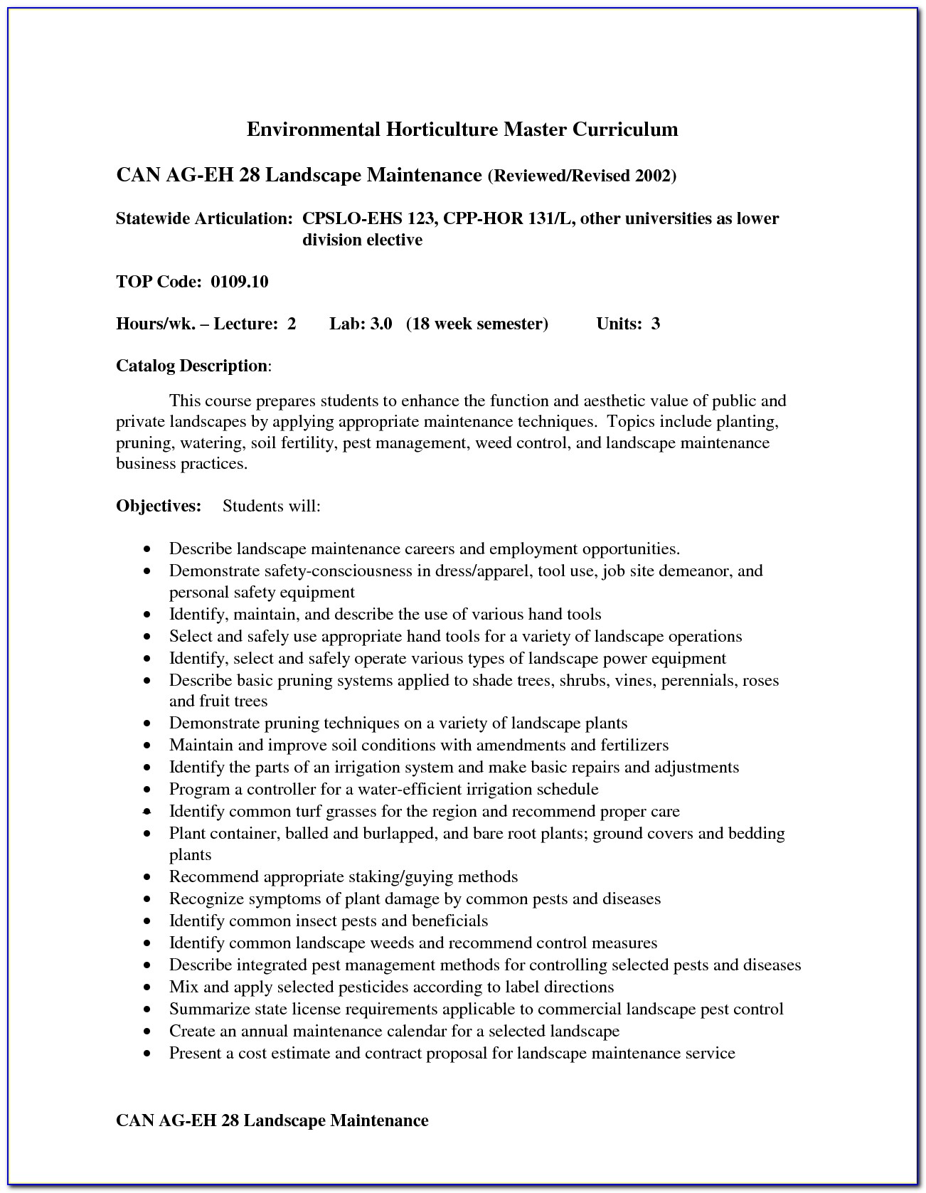 Landscaping Maintenance Agreement Template