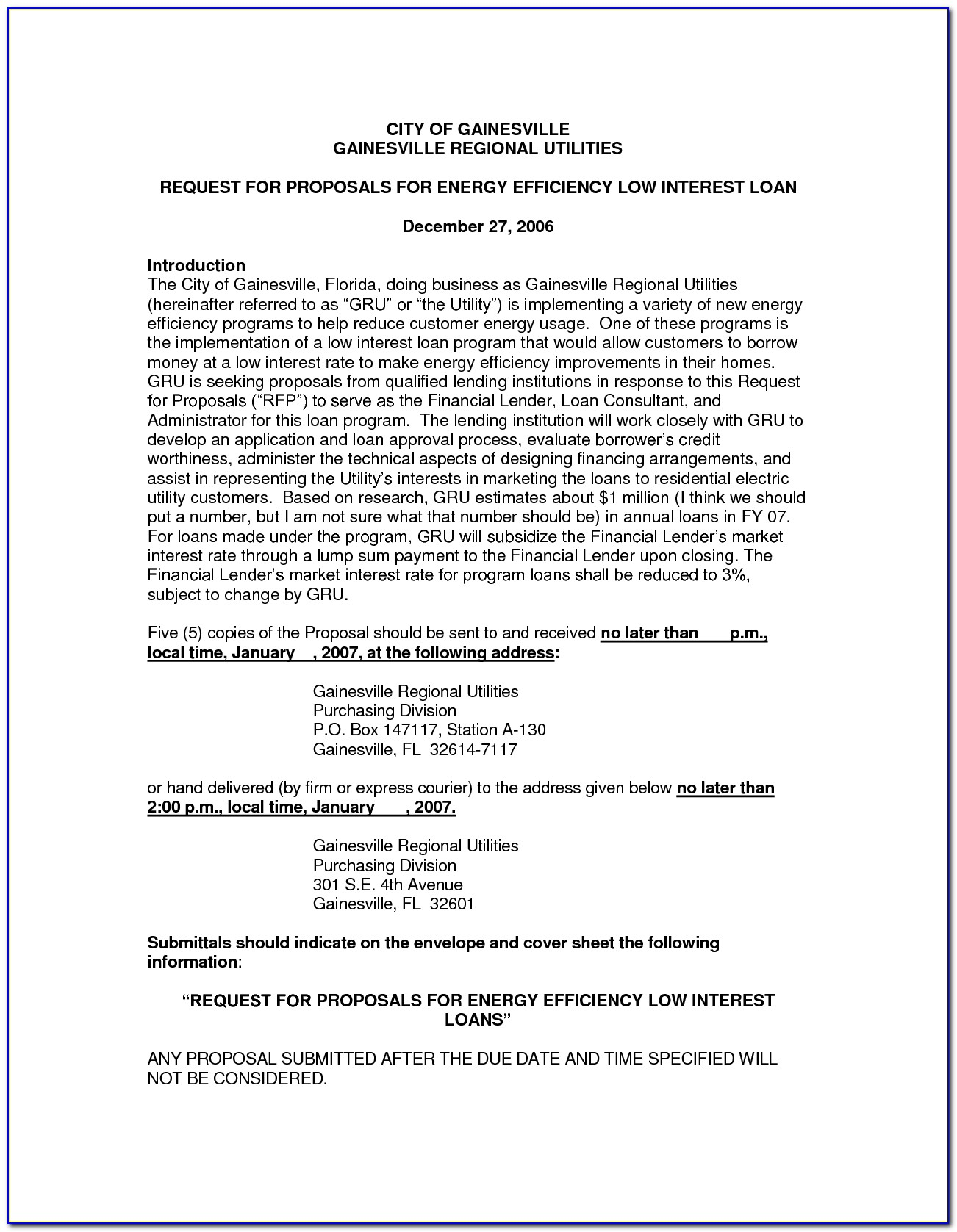 Loan Proposal Example Staff Adjuster Sample Resume In Business Loan Template