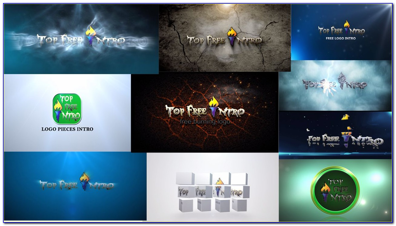 Logo Intro After Effects Cs4 Template Free