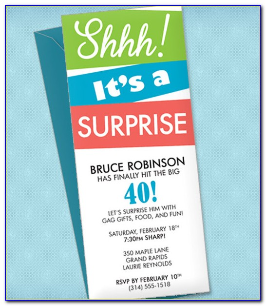 Lol Surprise Birthday Invitation Template
