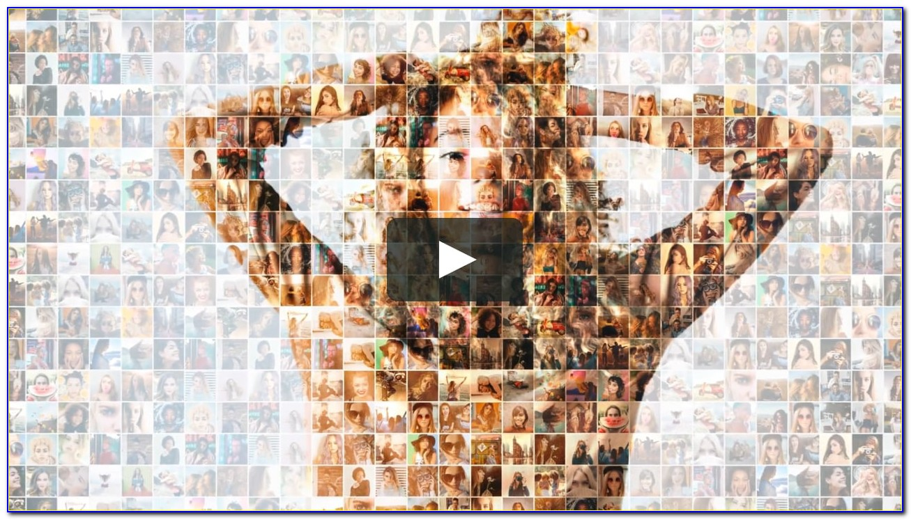 Mosaic Photo Reveal After Effects Template Free