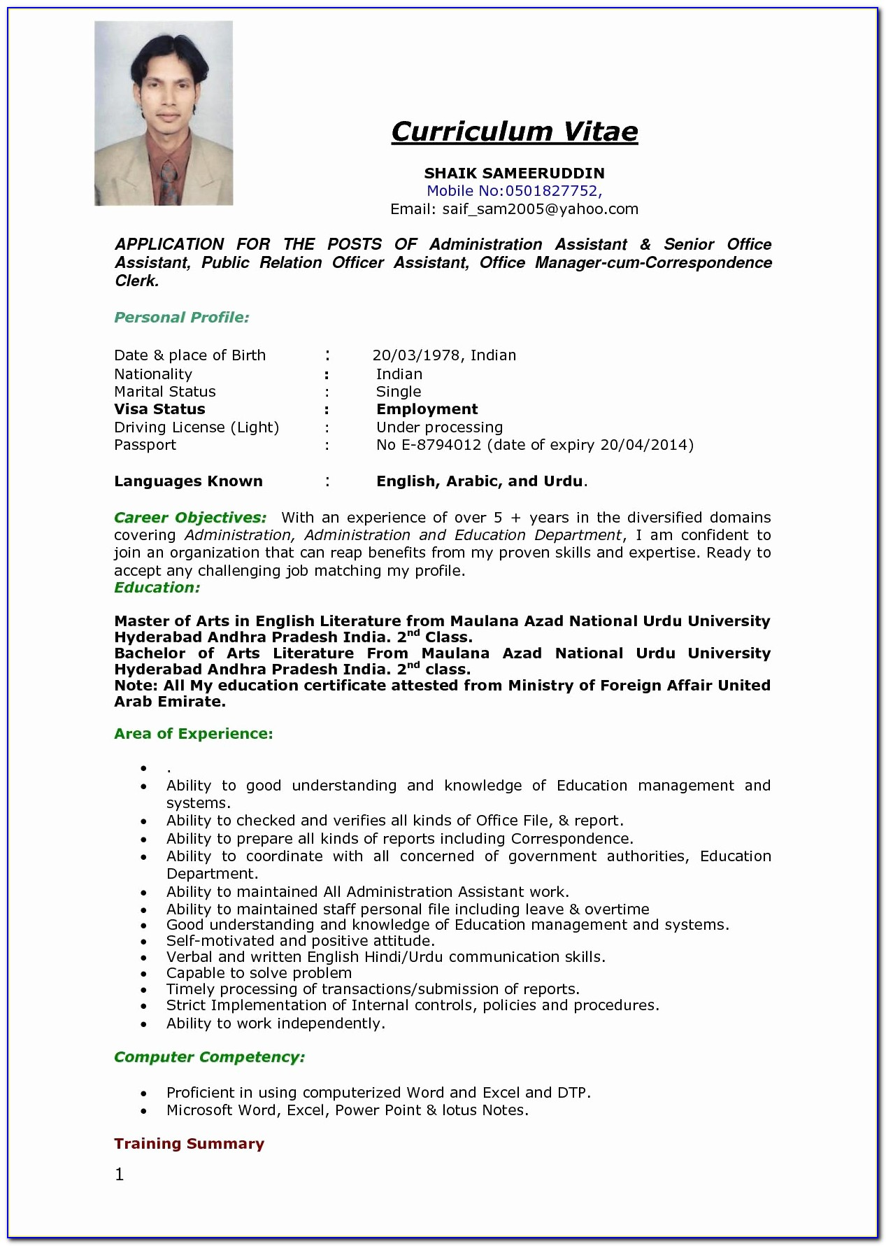 Resume Examples In English Sample Resume Doc Best Skills In A Resume Impressive Resume Templates
