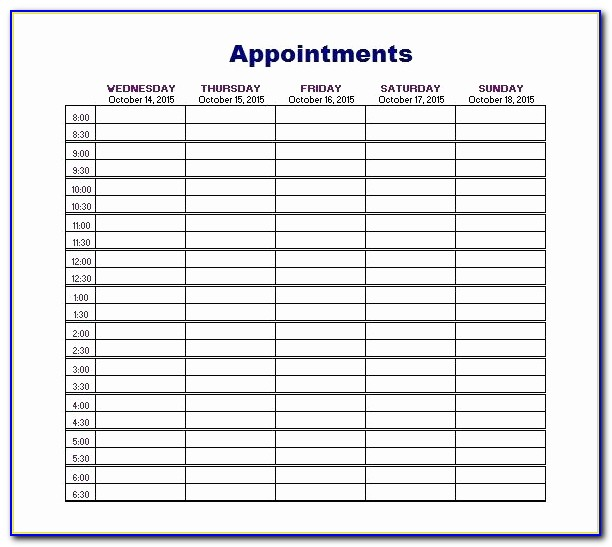 Salon Appointment Book Template Beautiful Salon Appointment Book Template Schedule Templates Free Word Excel