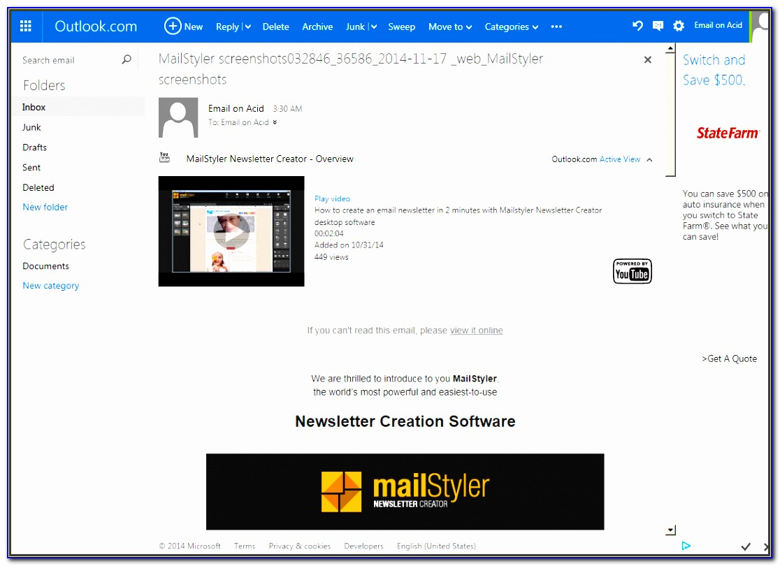 Newsletter Template Builder