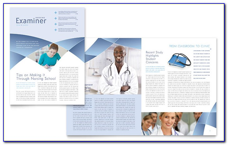 Nursing Newsletter Template