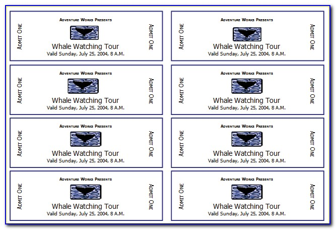 Online Ticket Booking Template Download