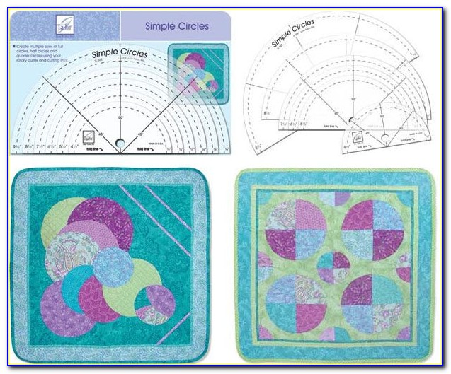 Patchwork Rulers And Templates