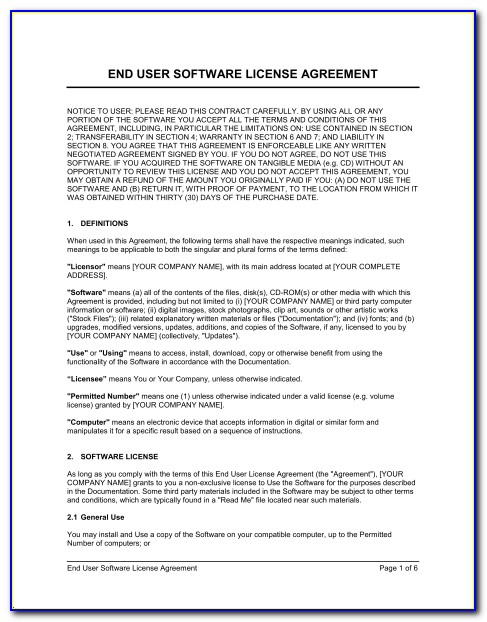 Patent Sublicense Agreement Template