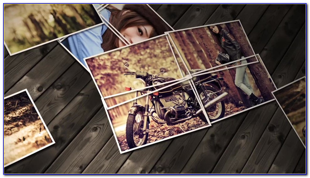 Photo Collage After Effects Project Free