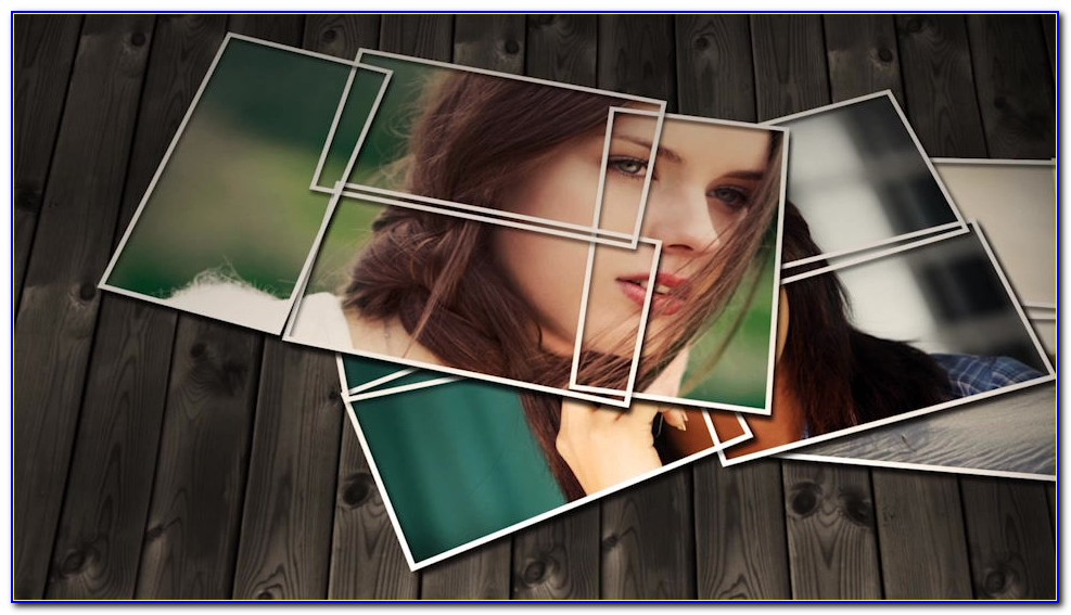 Photo Montage After Effects Template
