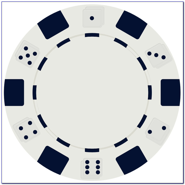 Poker Chip Design Template