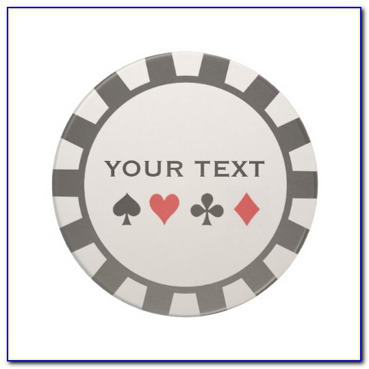 Poker Chip Label Template