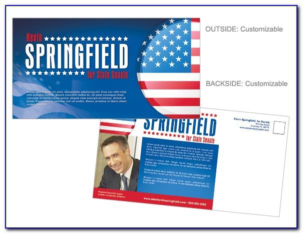 Political Postcard Template