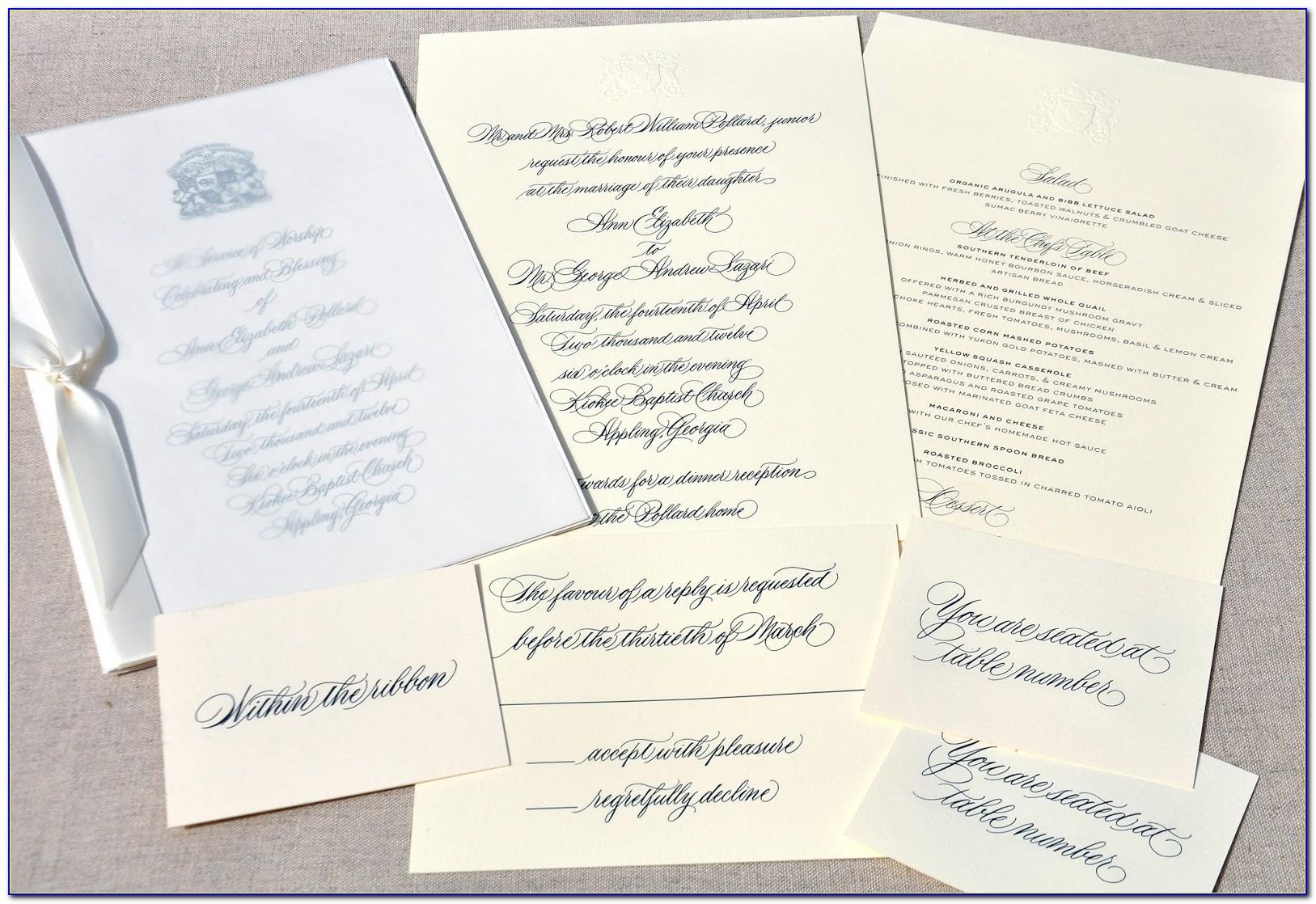 Post Wedding Celebration Invitation Template