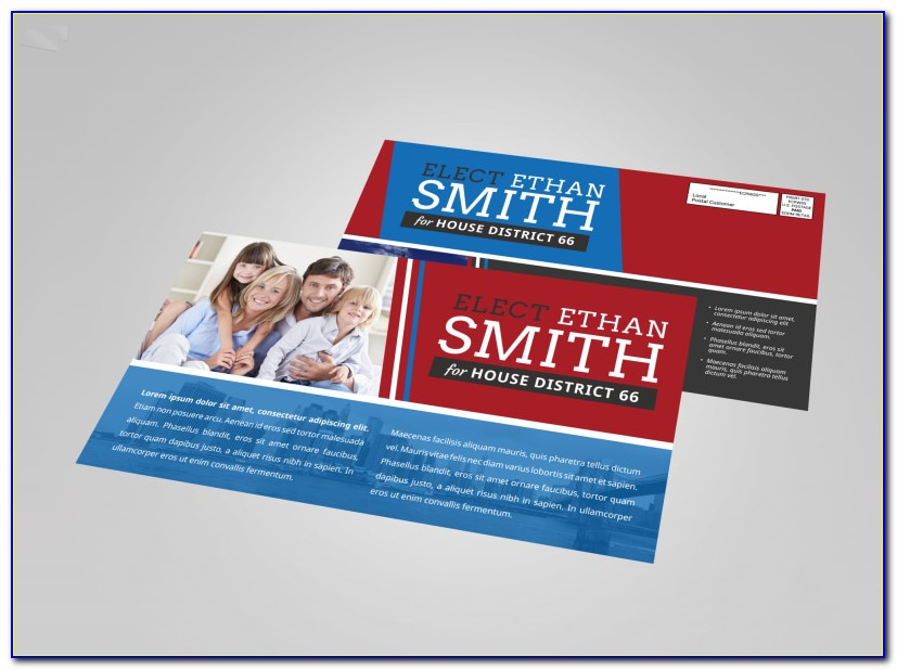 Professional Political Postcard Templates