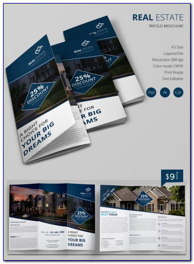 Real Estate Brochure Template Free Download