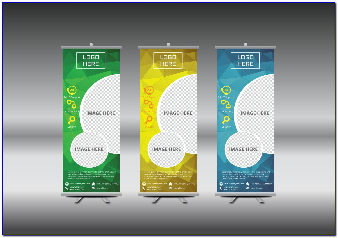 Roller Banner Template Free