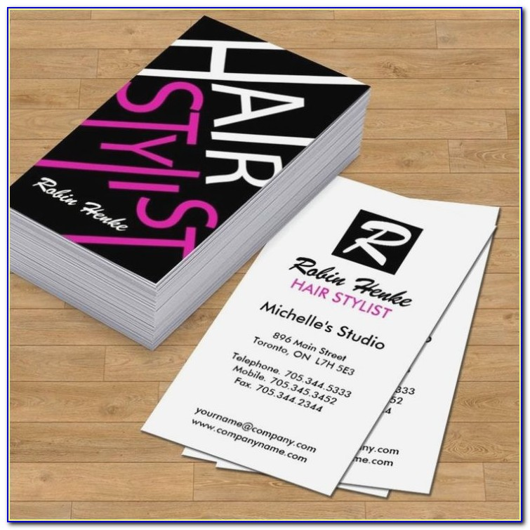 Salon Business Card Template Free Download