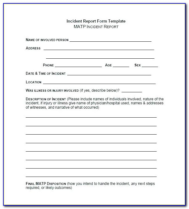 Sans Incident Response Policy Template